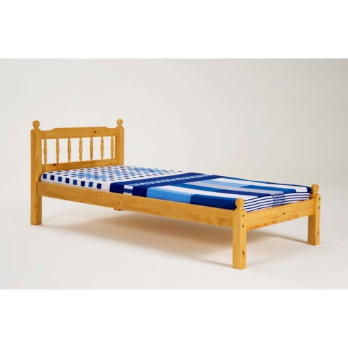 pine single bed frame