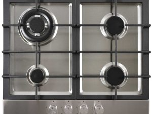 Statesman Gas Hob - Stainless Steel