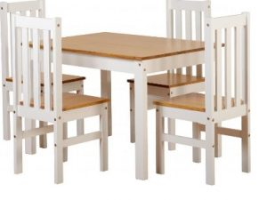 Table and 4 Chairs Sets