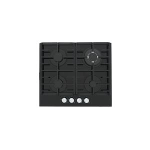 image of Built in Glass on Gas Hob - Black