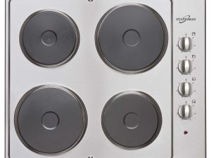 image of Statesman Electric Hob - Stainless Steel