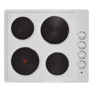 Statesman Electric Hob - White